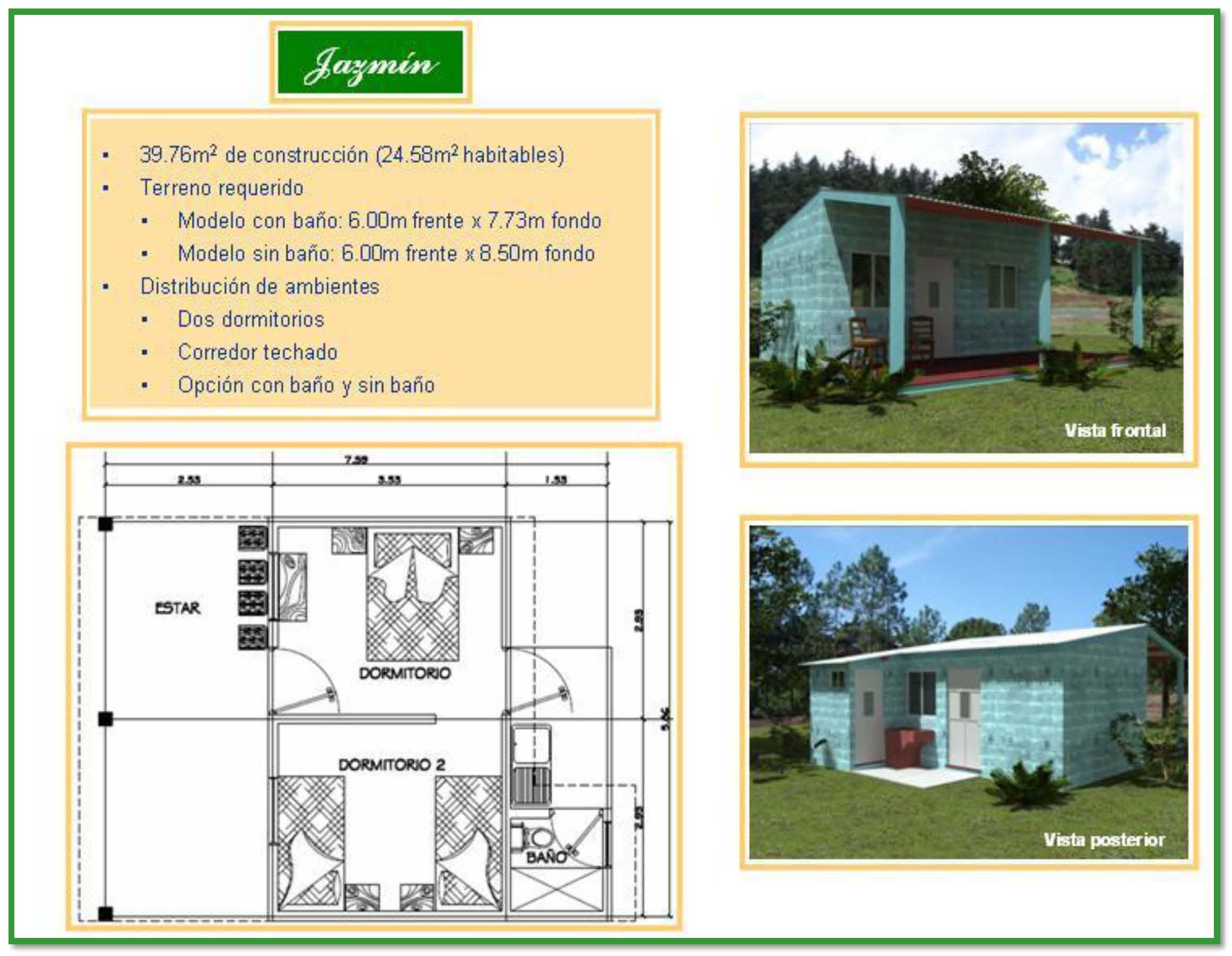 Construir tu vivienda en terreno propio creditos for Programa para construccion de casas